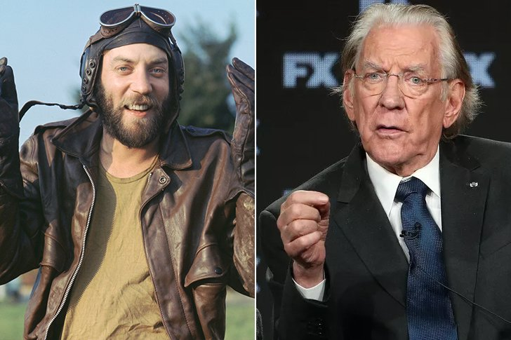 Donald Sutherland – 85 Years Old