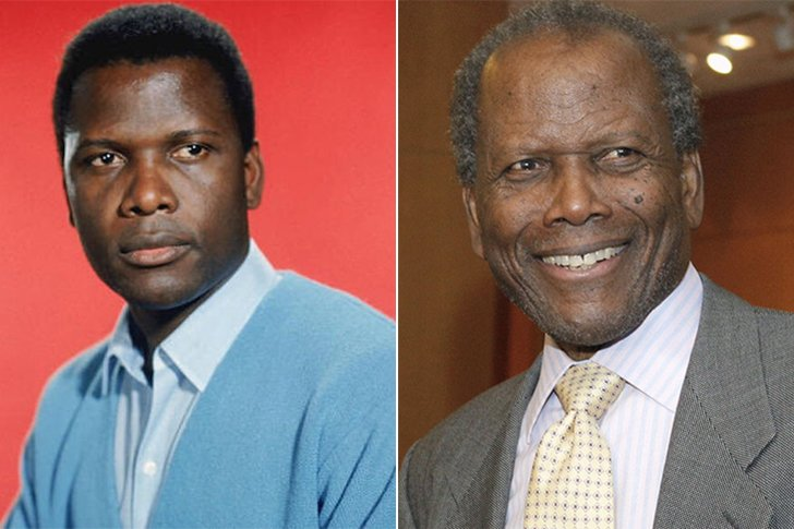 Sidney Poitier – 93 Years Old