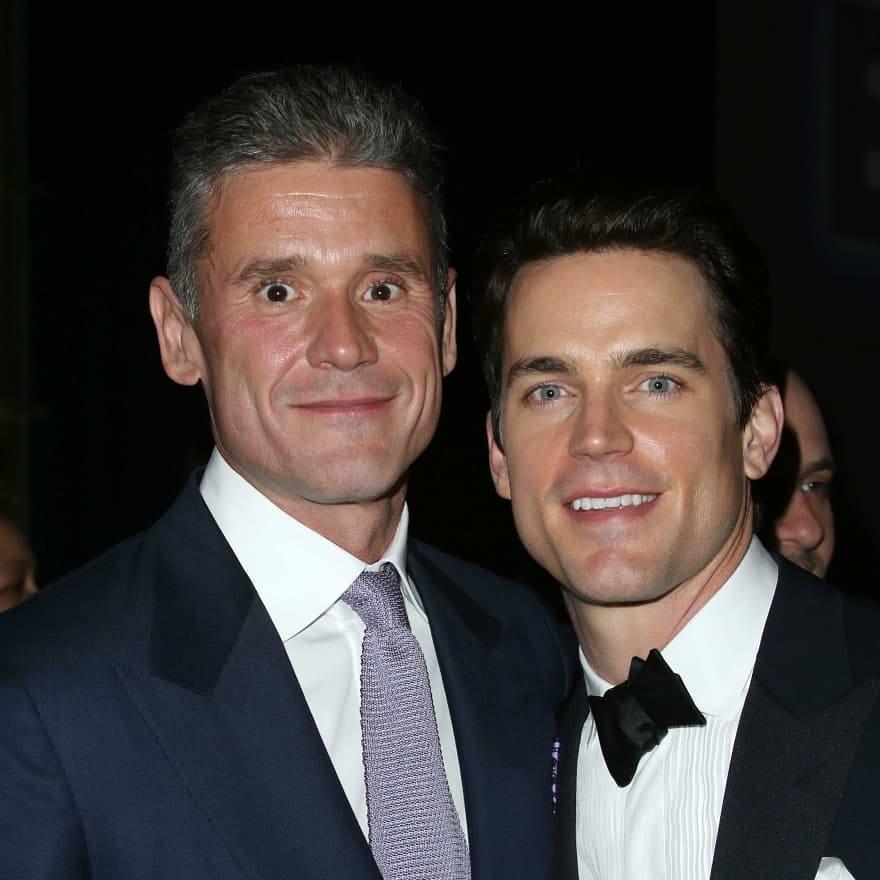 Simon Hall e Matt Bomer