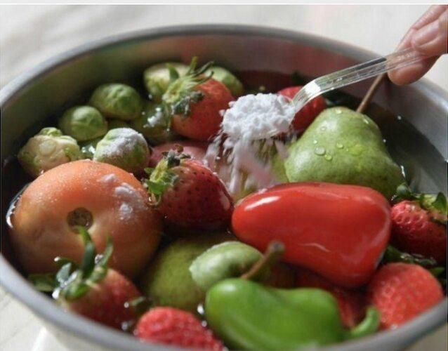 Pulire La Vostra Frutta E Verdura