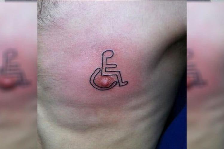 Un Altro Tatuaggio Capezzolo