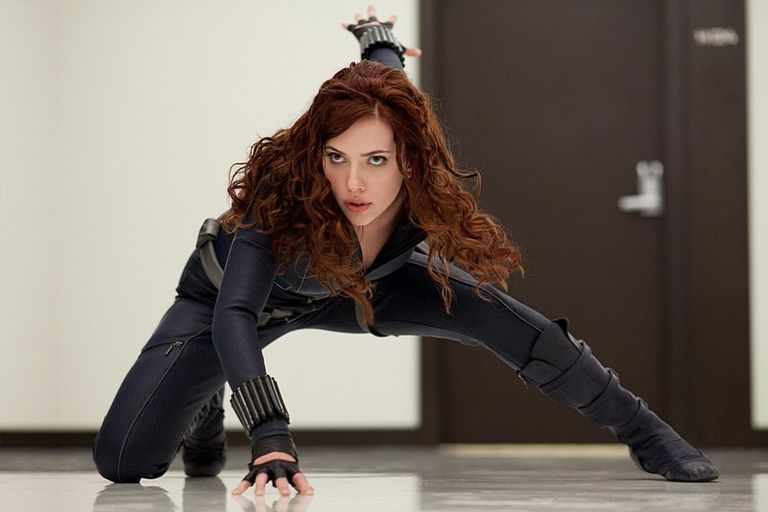 Black Widow (Claire Voyant) In Iron Man 2 And The Avengers