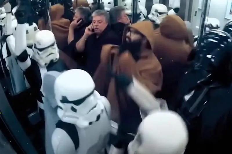 Dançando Com Storm Troopers