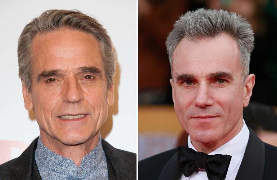 Jeremy Irons And Daniel Day Lewis