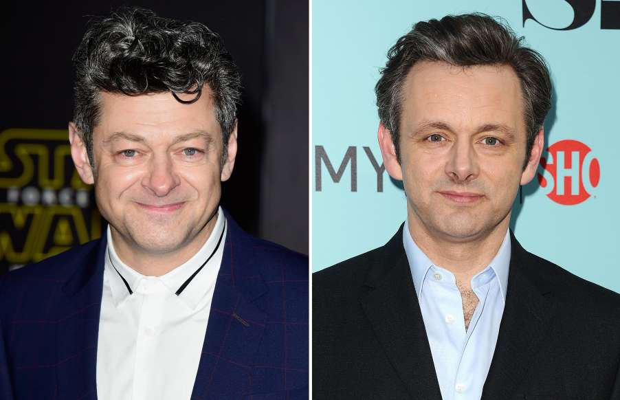 Andy Serkis And Michael Sheen