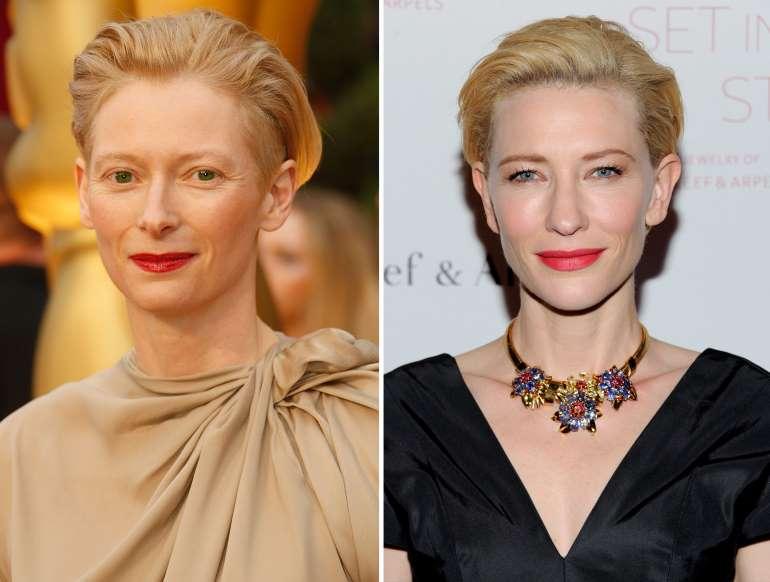 Tilda Swinton And Cate Blanchett