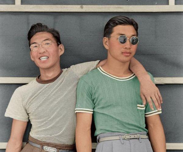 Giapponesi Americani Internati Nei Campi