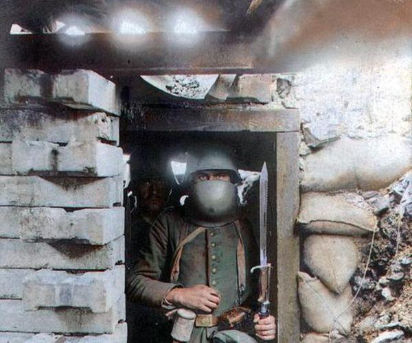 Un Soldato Tedescodurante La Grande Guerra