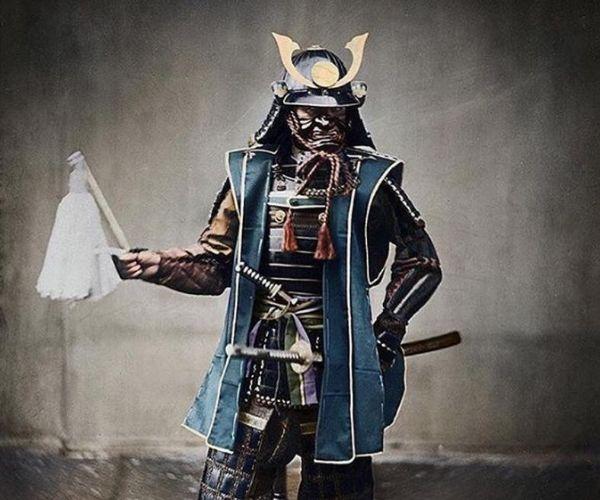 Un Tipo Soldato Giapponese Di Un Tempo