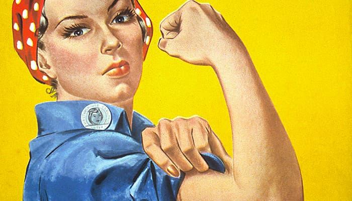 Las Chicas Patriotas De Los Años 40