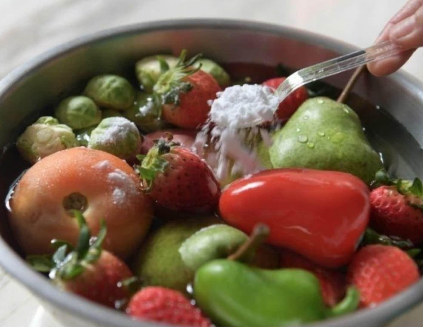 Sebze – Meyve Temizlemek İçin