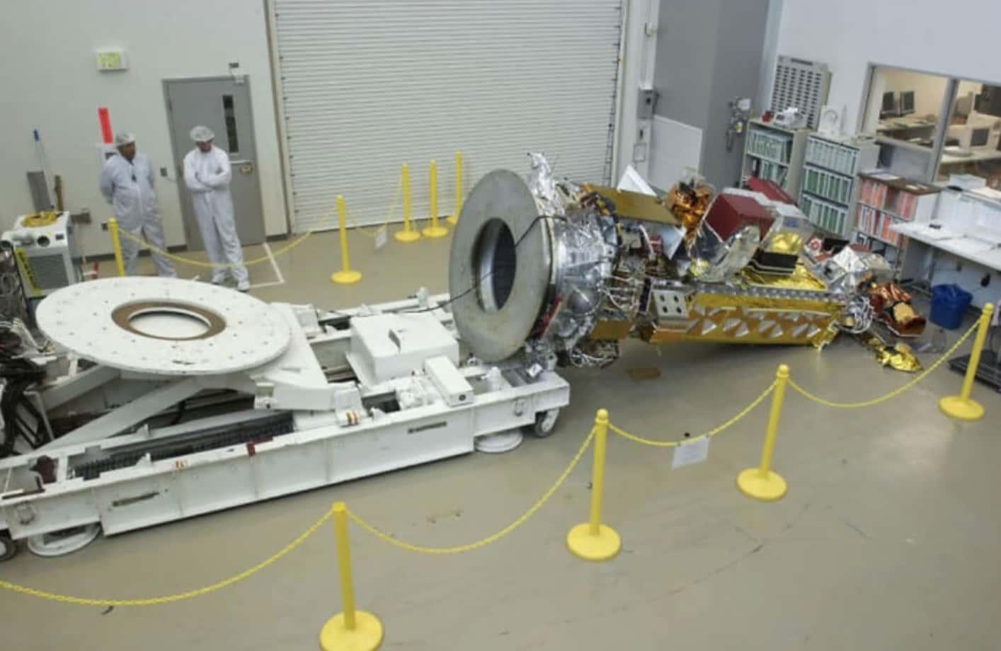 NOAA N Prime Satellite'ın Düşürülmesi