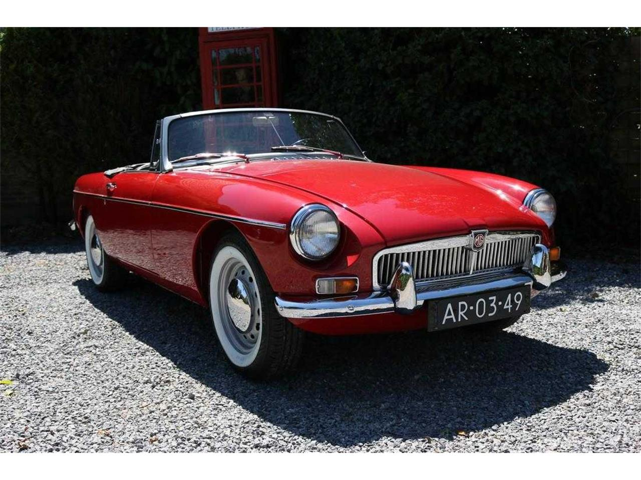 1962 Morris Garages (MG) MGB