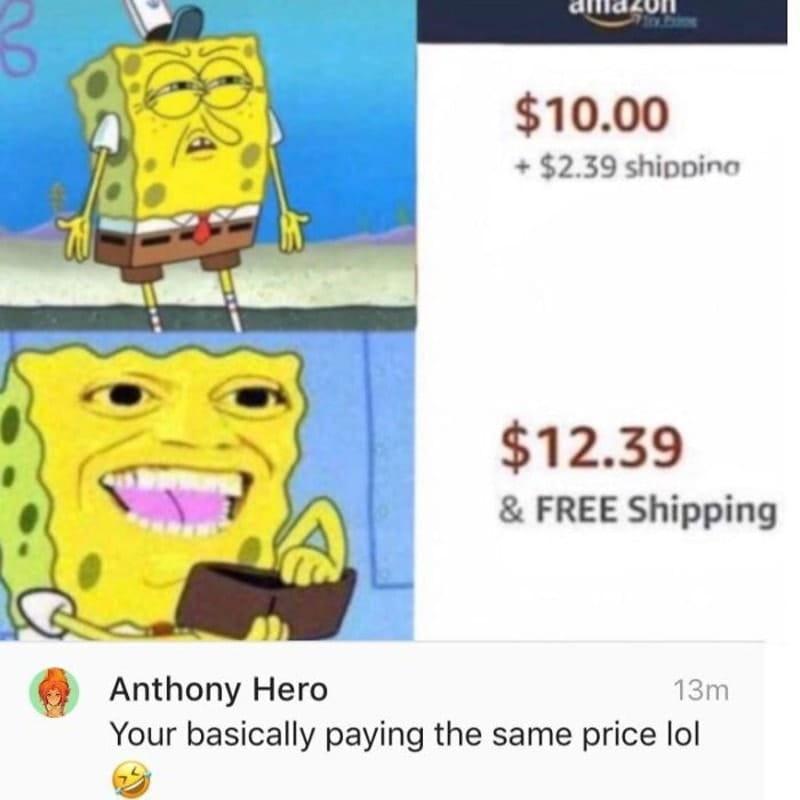 Il Ne Connait Pas Sponge Bob
