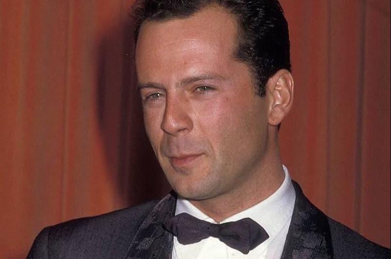 Bruce Willis Then