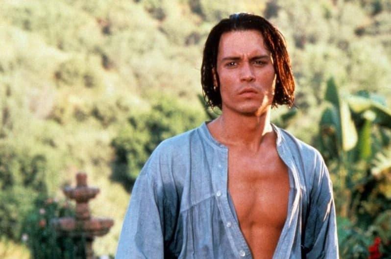 Johnny Depp Then