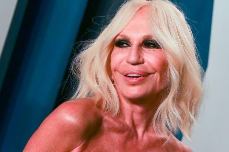 Donatella Versace Now