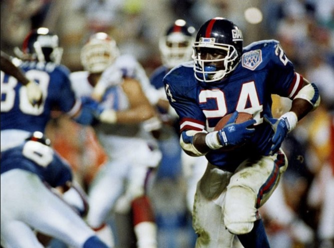 Ottis Anderson (Years In The NFL 1979 1992)