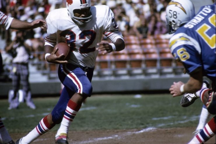 O.J. Simpson (Years In The NFL 1969 1979)