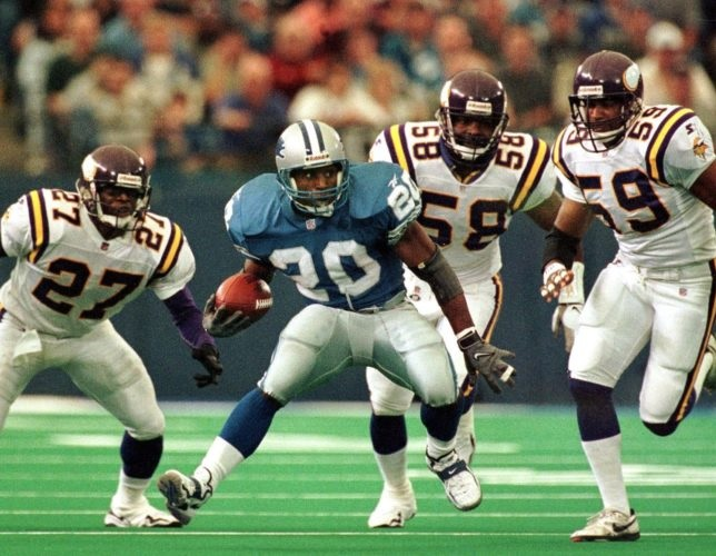 Barry Sanders (Years In The NFL 1989 1998)