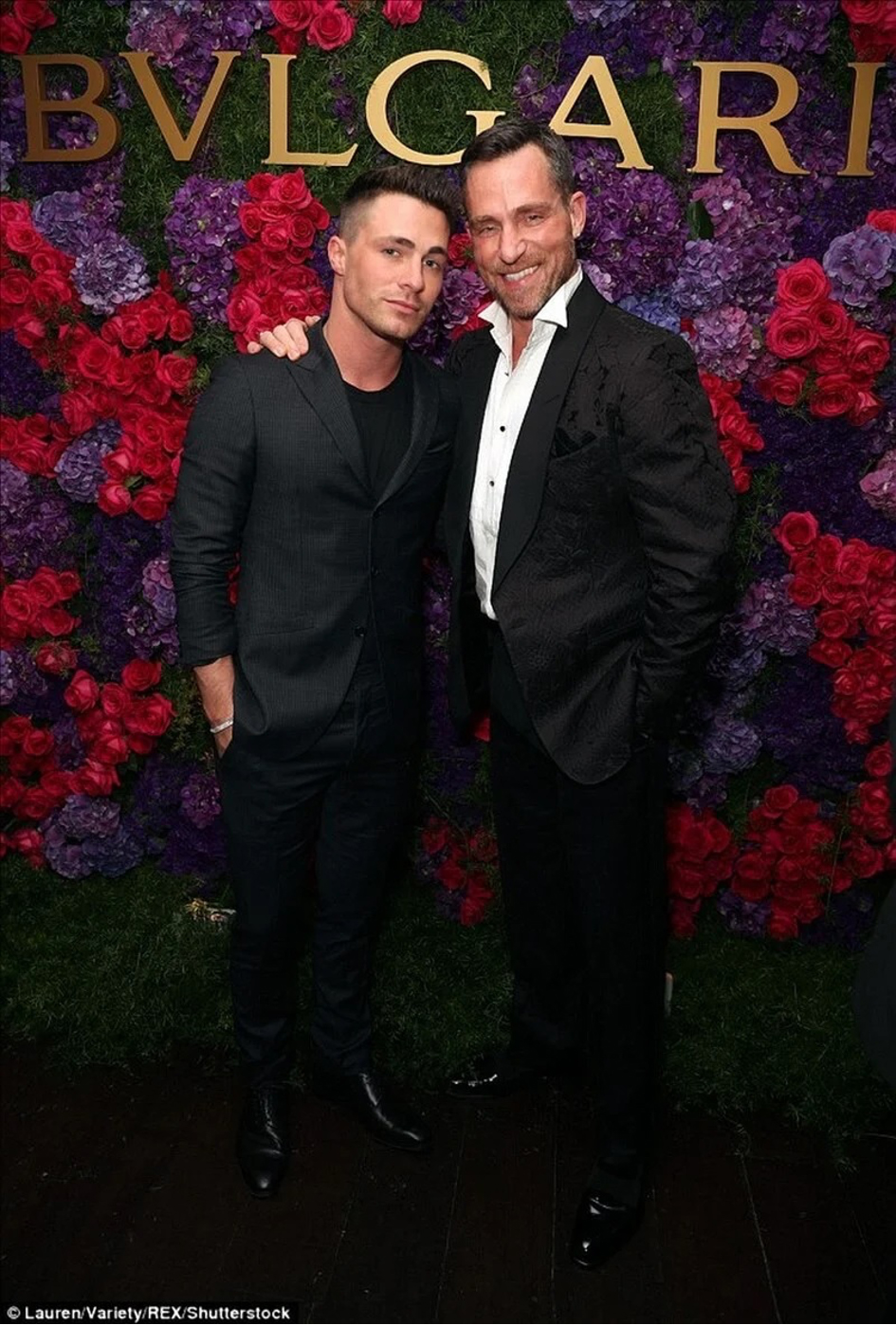 Colton Haynes & Jeff Leatham