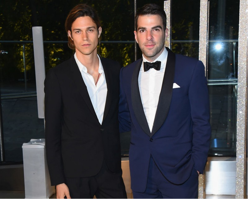 Zachary Quinto & Miles McMillan