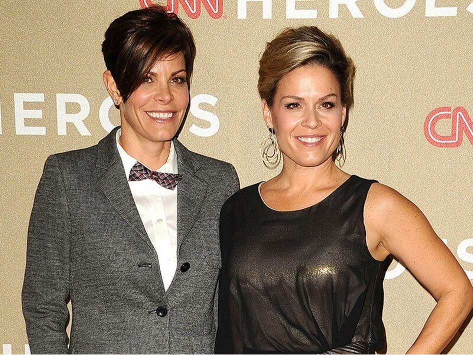 Cat Cora & Jennifer Cora