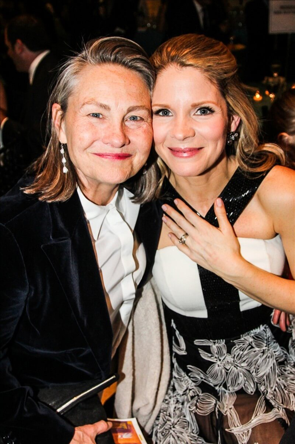Cherry Jones & Sophie Huber