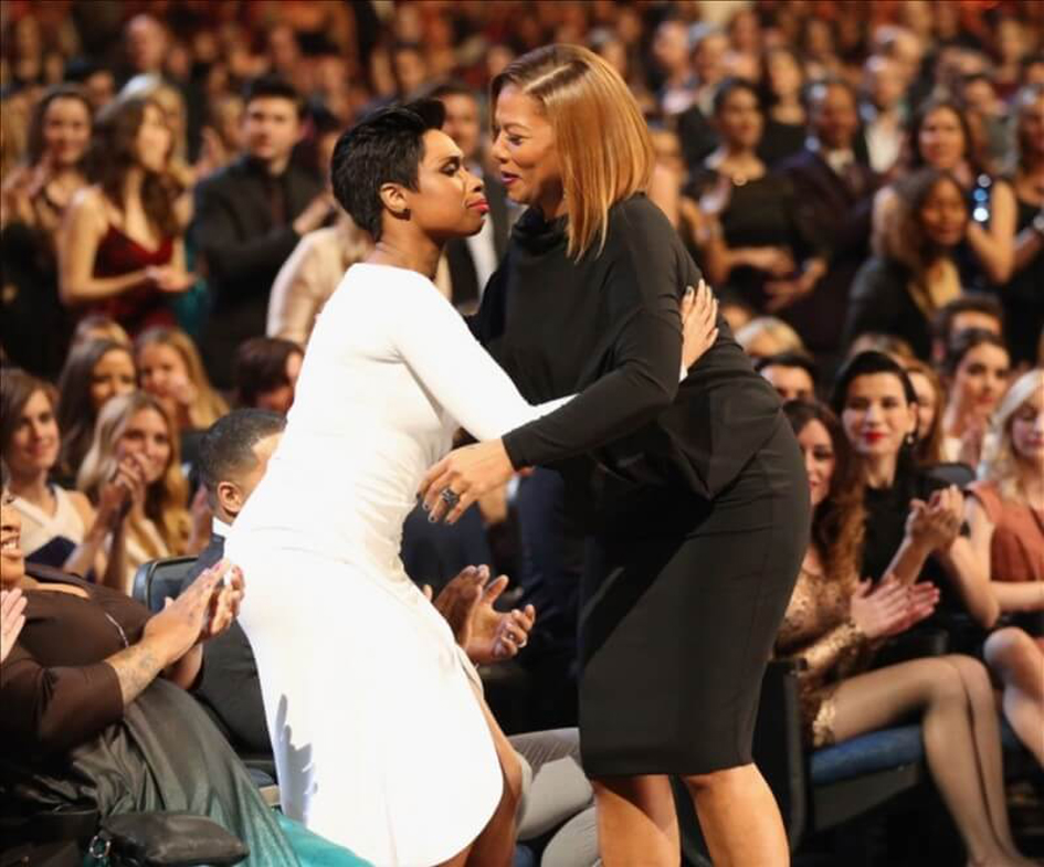 Queen Latifah & Jeanette Jenkins