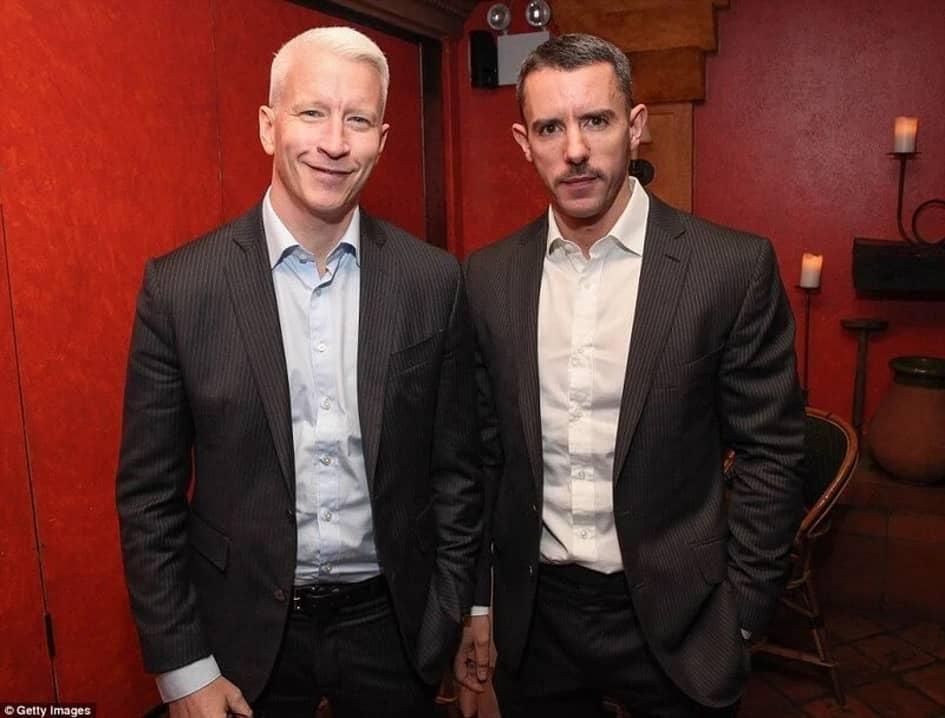 Anderson Cooper & Benjamin Maisani