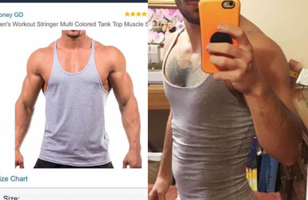 Camiseta Sin Mangas De Entrenamiento Para Hombre