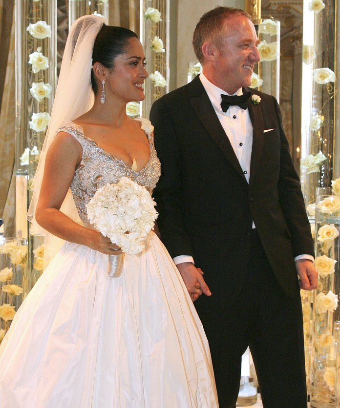 Salma Hayek's Valentines Day Wedding