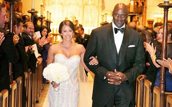 Michael Jordan's Heavenly Wedding