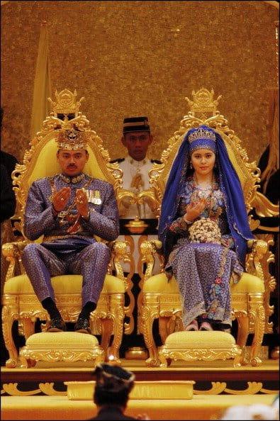 Príncipe Al Muhtadee Billah Y Sarah Salleh