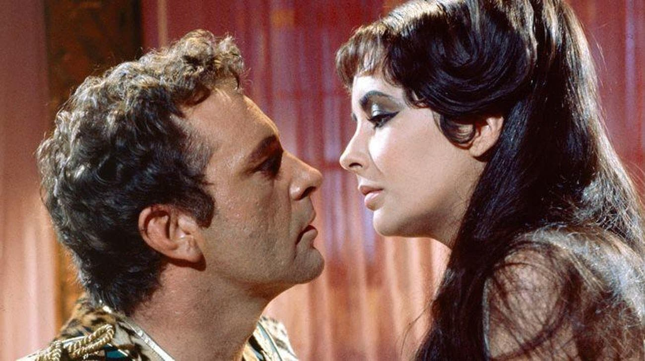 Cleopatra Richard Burton & Elizabeth Taylor