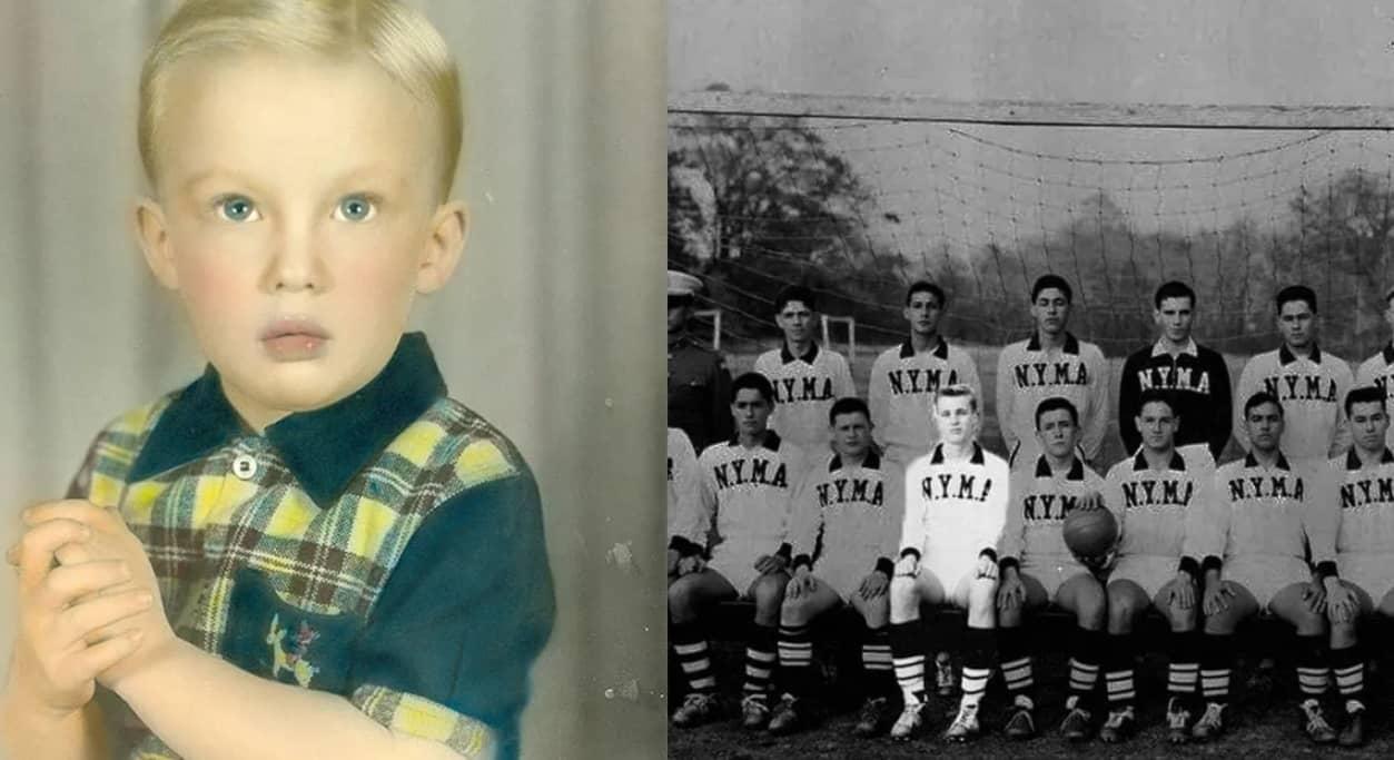 Incríveis Fotos Reveladas da Infância de Donald Trump