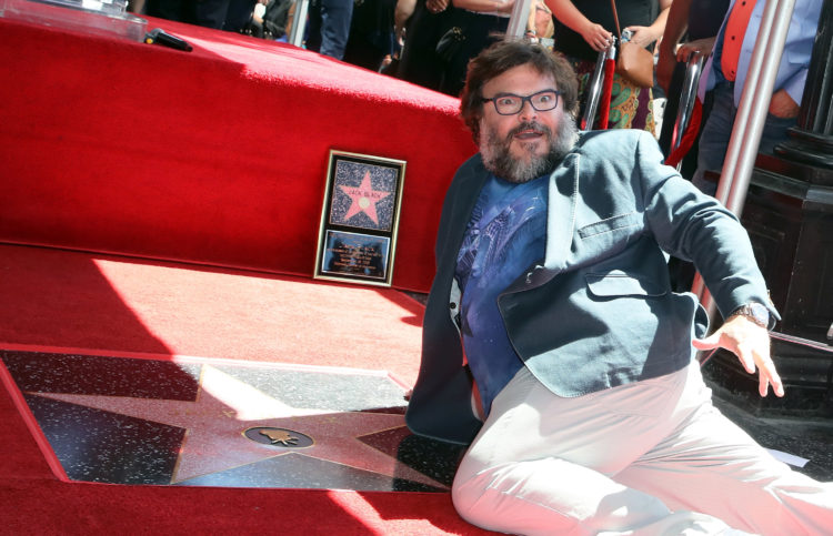 Jack Black Honored With Star On The Hollywood Walk Of Fame