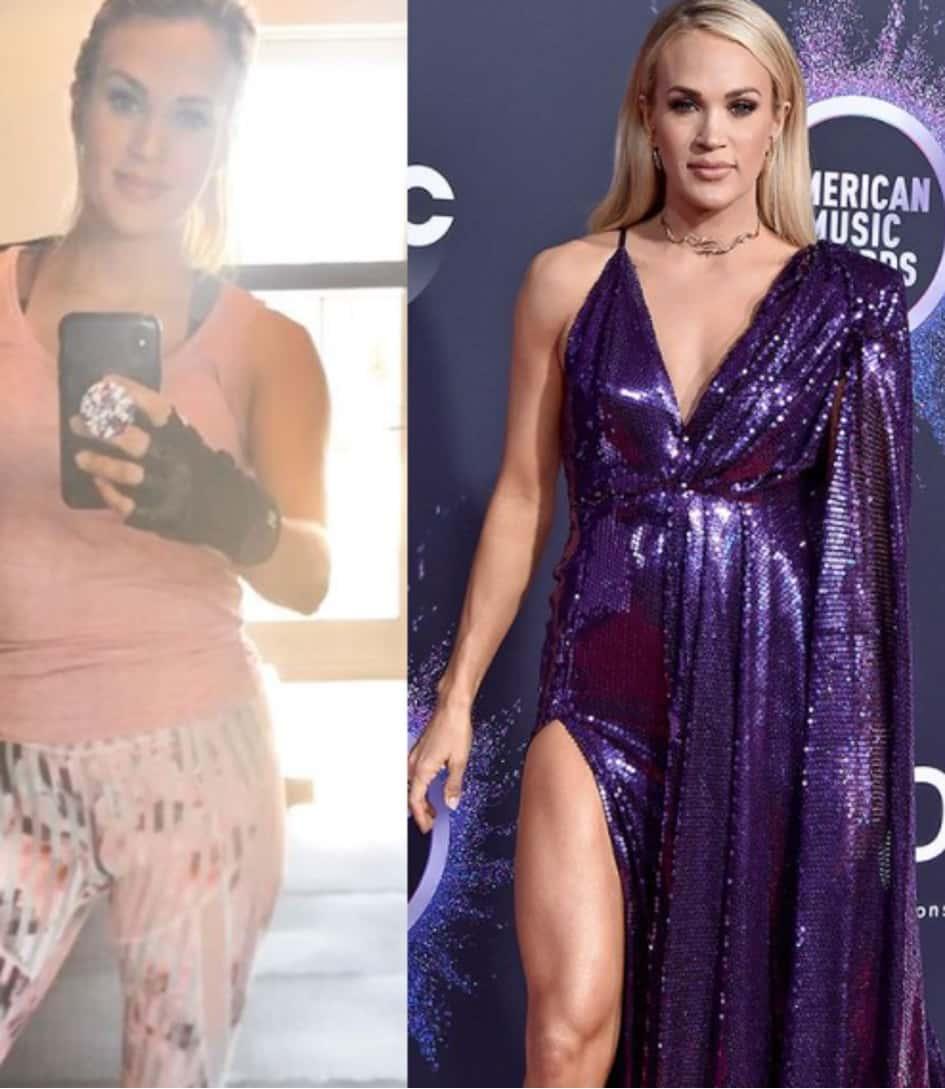 Carrie Underwood Se Remet En Forme Après Son Accouchement