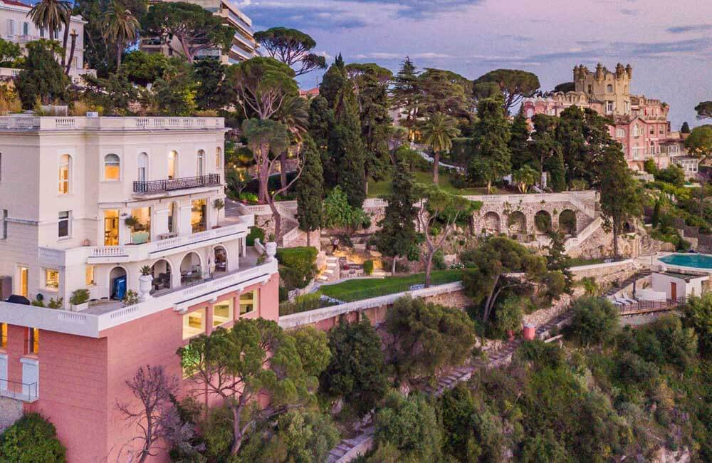 Sean Connery's Nice, France Home