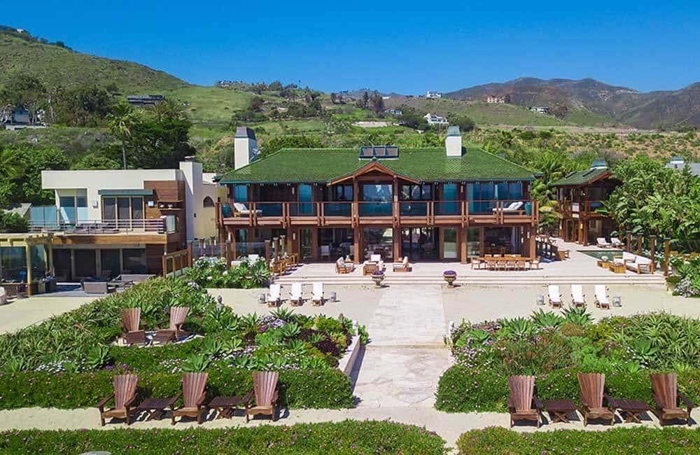 Pierce Brosnan's Malibu Home