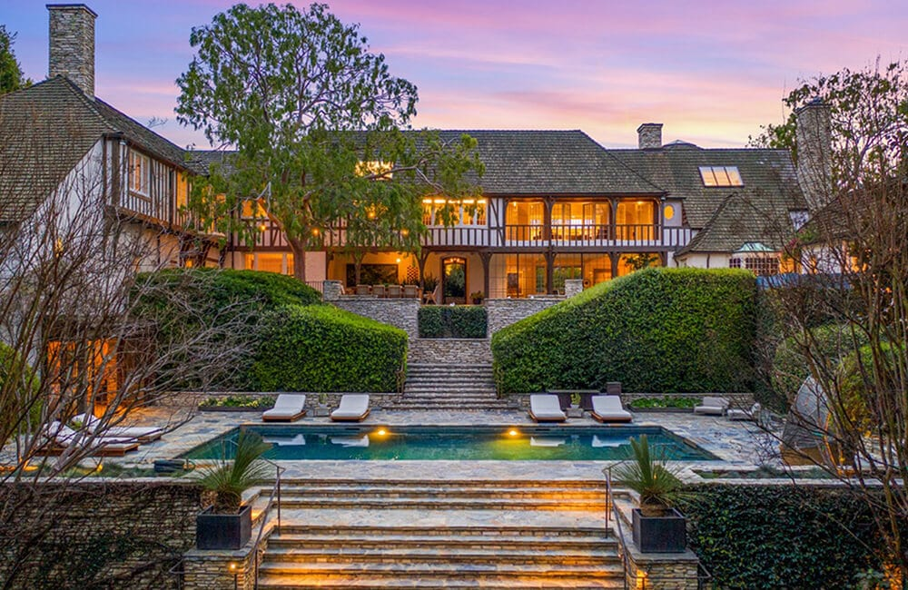 Brad Pitt And Jennifer Aniston's Former Estate – Beverly Hills, California