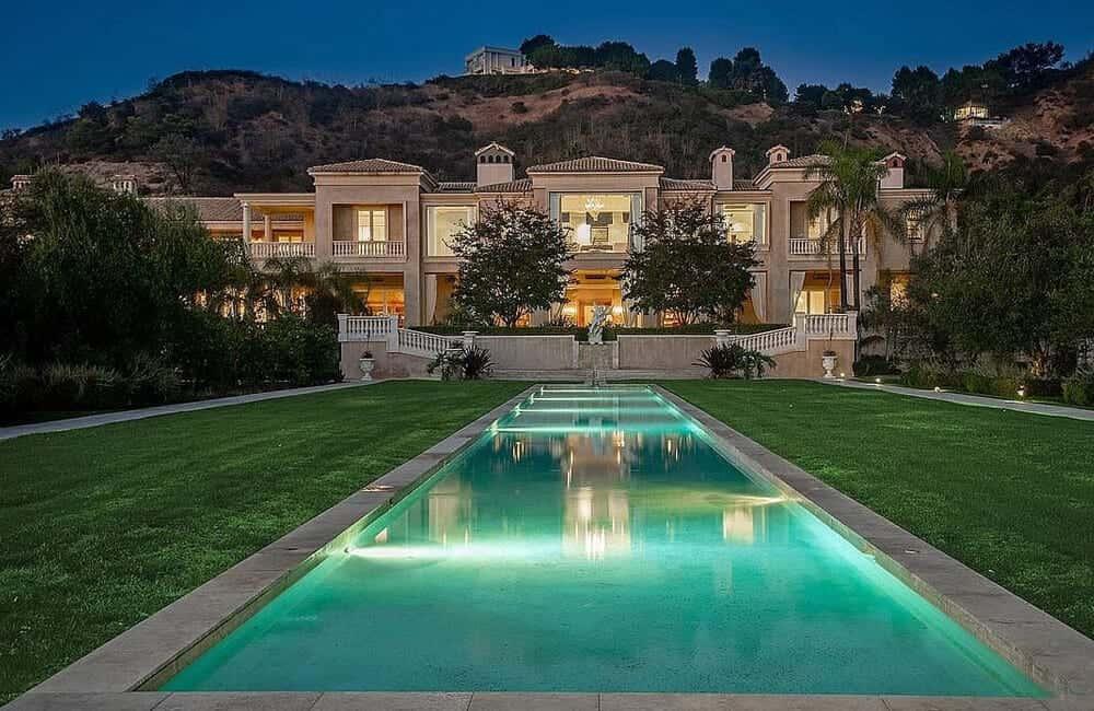 Mediterannean Mansion – Beverly Hills, California
