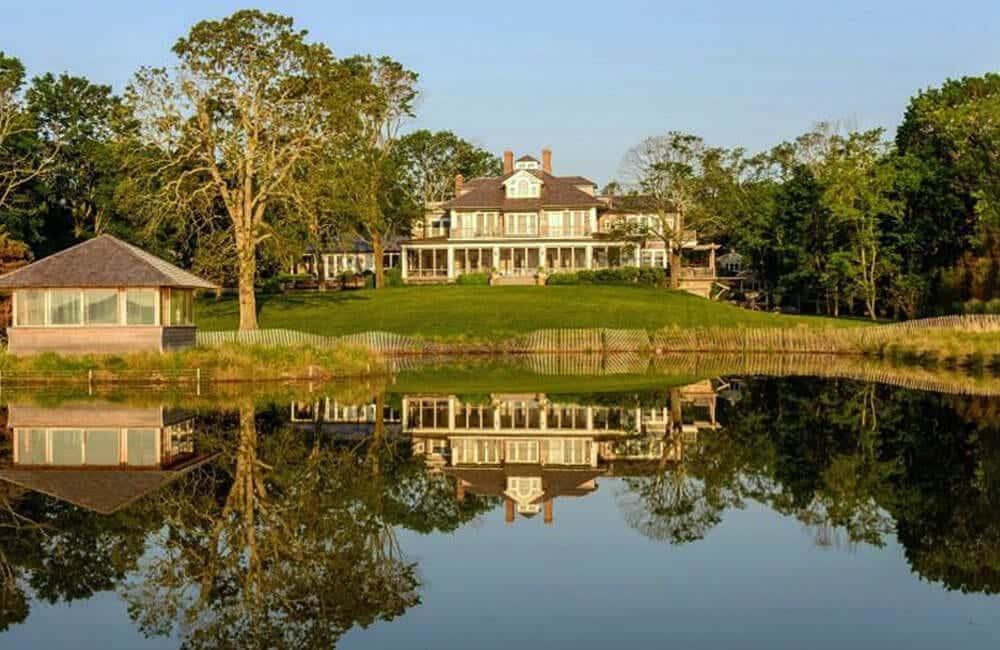 Matt Lauer's Waterfront Estate – The Hamptons, New York