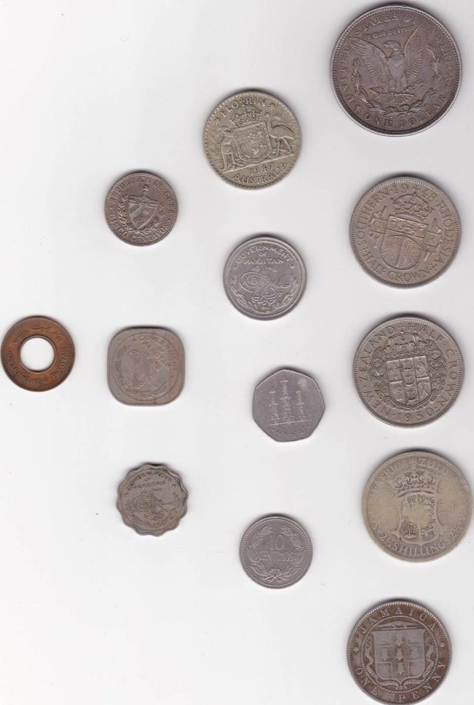 Many Old Coins