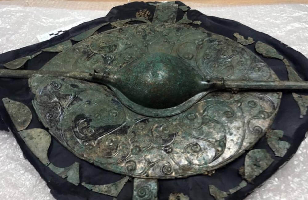 Bronze Shield From The UK