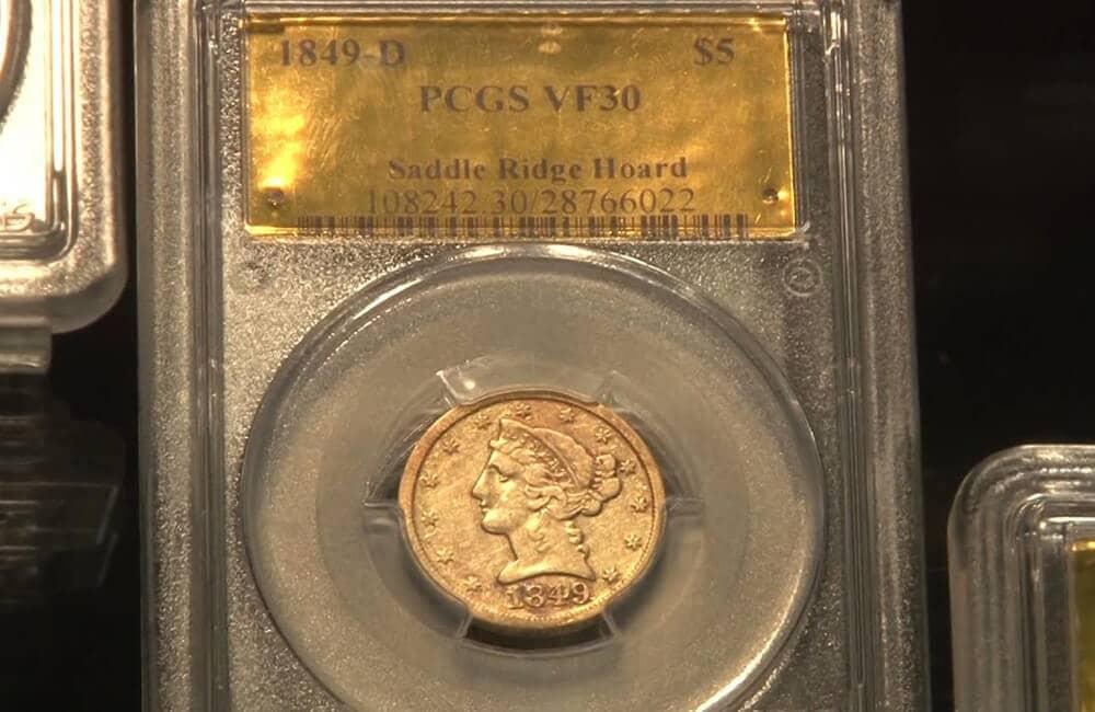 Saddle Ridge Gold Coin Collection