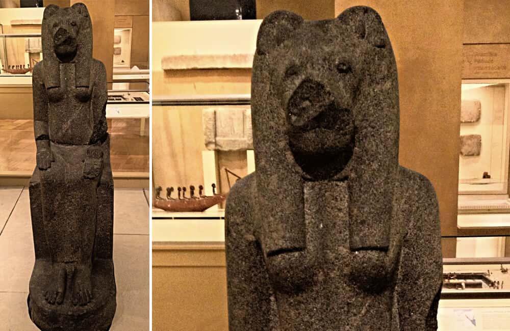 Statue Of Egyptian God Sekhmet
