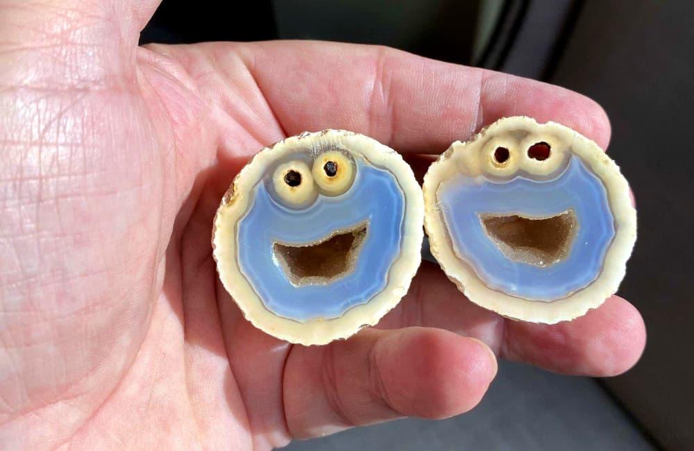 Cookie Monster Geode