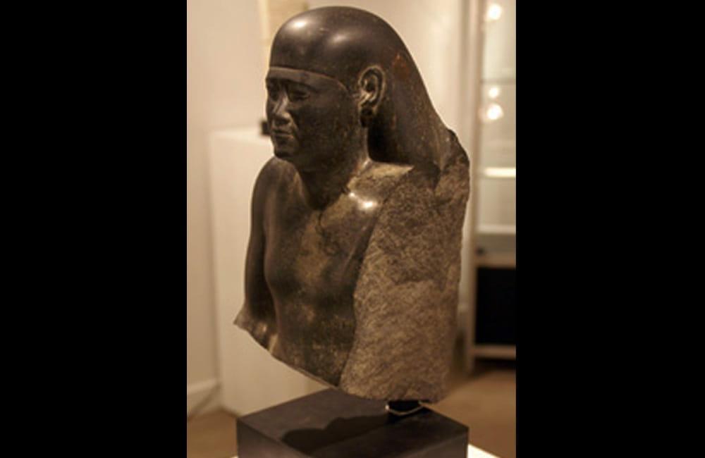 Diorite Head Statue