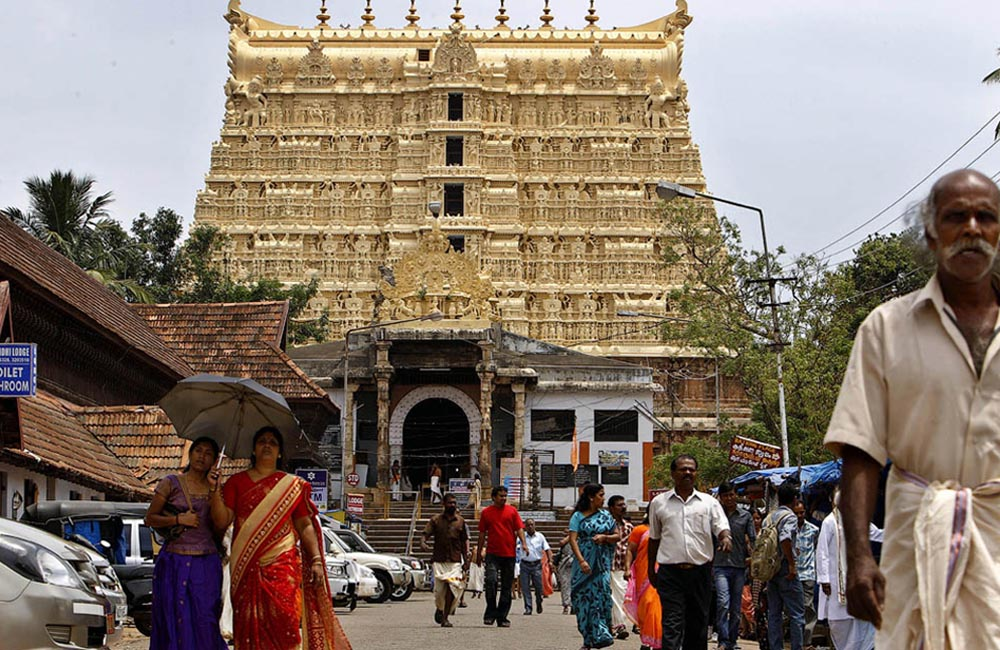 Chamber Beneath Padmanabhaswamy Temple